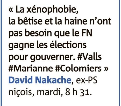 Manuel Valls, Marianne, la bêtise et la haine | David Nakache | Scoop.it