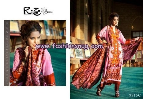 Shariq Textiles Summer Riwaj Lawn Suits 2013 Volume 3 | Fashion Blog | Scoop.it