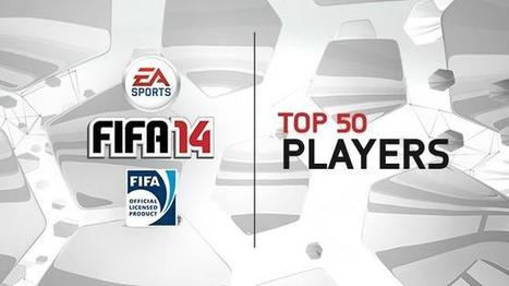 The Top 50 Players in FIFA 14 | FIFAVZLA | Scoop.it