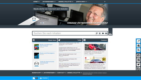 Mazda Österreich Newsroom | Social Media Newsrooms | Scoop.it