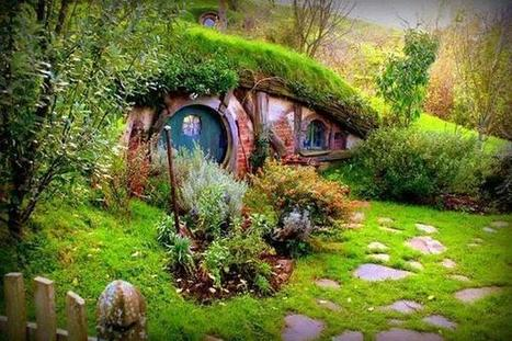 Twitter / beachydreamer: A Hobbit house on the New Zealand ... | 'The Hobbit' Film | Scoop.it