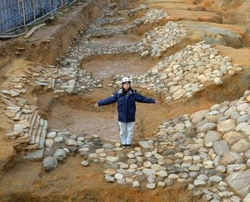 Possible ruins of ancient emperor's grave unearthed in Asuka | The Asahi Shimbun | Kiosque du monde : Asie | Scoop.it