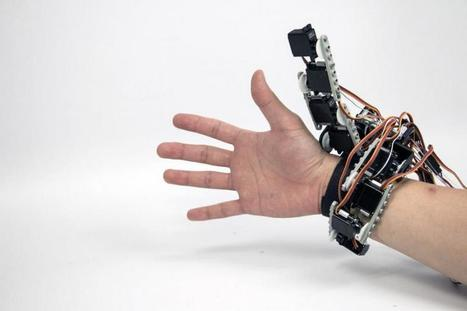 'Body Integrated Programmable Joints Interface' Extends Your Hand's Capabilities | Heron | Scoop.it