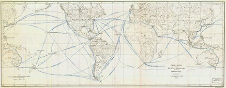 Image:Trade Routes and Distances by Existing Lines and by the Panama Canal.jpg - QED | Collaboration Mapping | Scoop.it