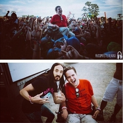 Steve Aoki Launches Cake 80 Feet & Hits A Kid In A Wheelchair | EDM artists trending | Scoop.it
