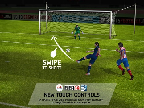 To No One's Surprise, 'FIFA 14' on Mobile Will Be Free-to-play | ios games | Scoop.it
