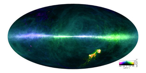 The best map of hydrogen distribution in the Milky Way | Astronomy | Scoop.it