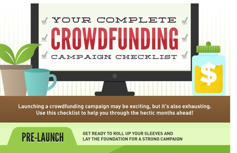 Your Complete Crowdfunding Campaign Checklist (Infographic) | CrowdfundingTrends | Scoop.it