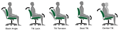 How to Choose an Ergonomic Office Chair - All World Furniture | Furniture Store in San Jose | Scoop.it