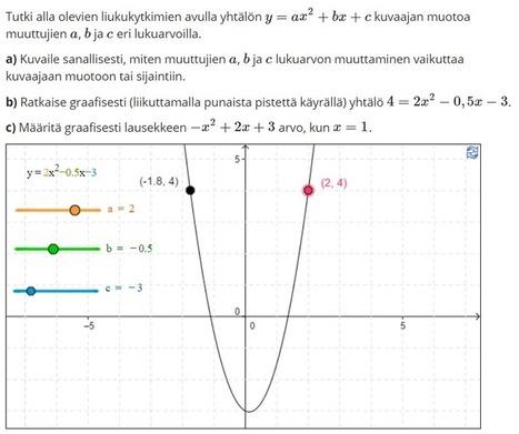 Polku-verkkopalvelu ja Vapaa matikka   Matematiikan opetuksen tulevaisuus   Sosiaalinen media ja oppiminen   Scoop.it