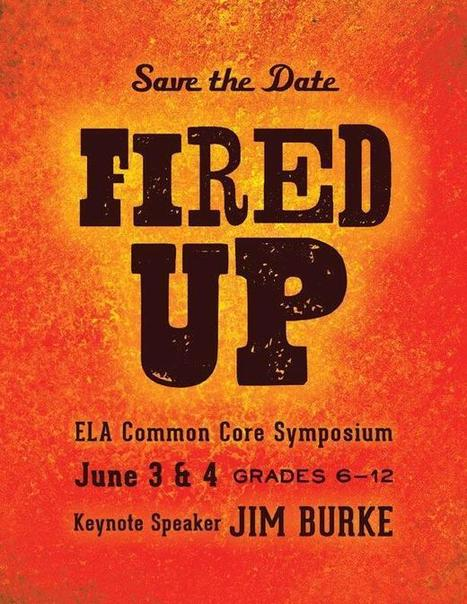 Twitter / LindseyJ_DCS: Save the Date - June 3 & ... | Secondary ELA | Scoop.it