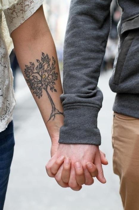 Tree Tattoos   FanPhobia - Celebrities Database   Tattos and Jewelry   Scoop.it