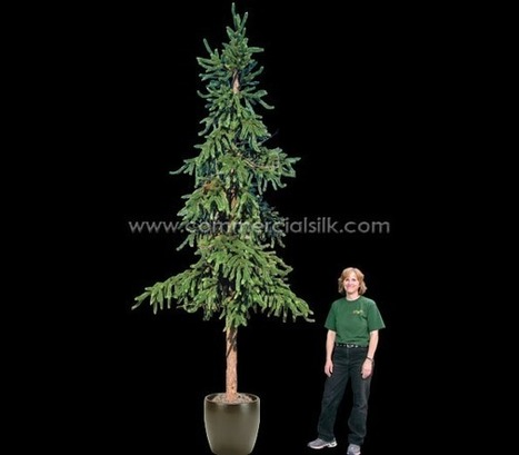 Artificial Spruce Tree | Artificial, Silk Trees Knowledge Center | Scoop.it