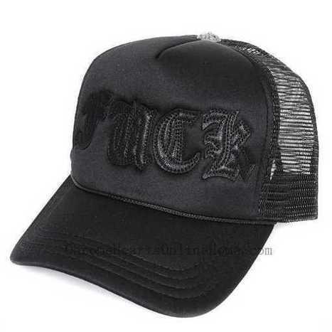100% Authentic Chrome Hearts Cap Black Leather Fuck Trucker Hot Sale Sale Online - $137.00 , Chrome Hearts Online Store | nice website | Scoop.it