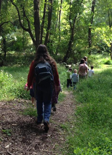 VIDEO: Nature Preschool opens young minds to the natural world - Roxborough Review - Montgomery News | Outdoor Early Learning | Scoop.it