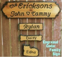 Wood Sign Personalize | Cotton Wood Cove Crafts | Scoop.it