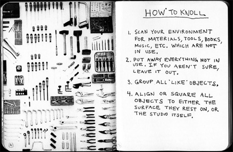 Always Be Knolling—My New Favorite Word, Inspired by Tom Sachs | Life, The Universe & Everything.... | Scoop.it
