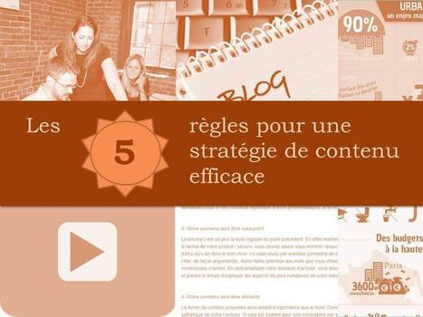 Les 5 règles pour une stratégie de contenu efficace | CW - Usefull Web stuff | Scoop.it