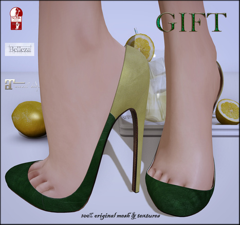 Alicia Heels New Location Gift by ChicChica | Teleport Hub - Second Life Freebies | Second Life Freebies | Scoop.it