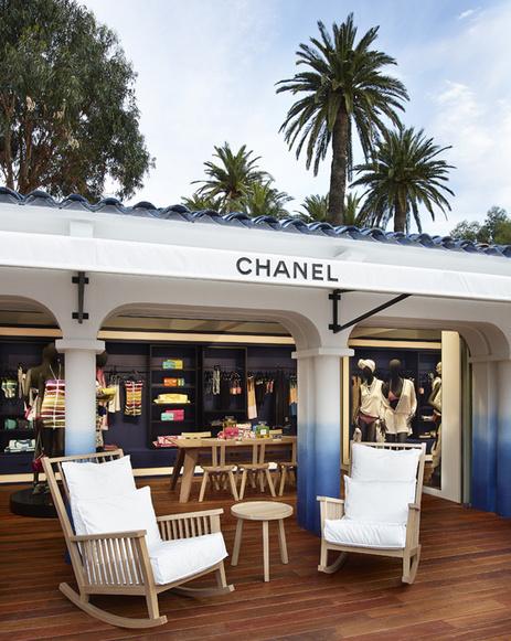 La boutique éphémère Chanel à Saint-Tropez - VOGUE.fr | HOTEL RELAIS SAINT-JACQUES | Scoop.it