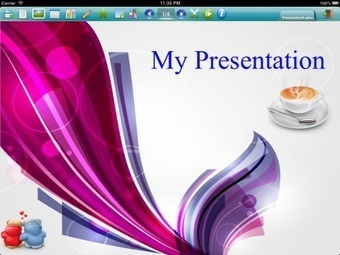 Pointsentation - a presentation app for iPad | learning plant | Scoop.it