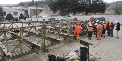 Un puente Bailey reemplazará al puente del COE sobre el río Achumani | Ingenieros Civiles | Scoop.it