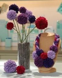 Modelos de flores de tela reciclada | El blog de trapillo.com | Erika Guerrero | Scoop.it
