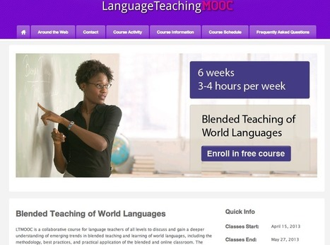Online Professional Development for Foreign Language Teachers | Foreign language begins with T | Technology of the future | Scoop.it