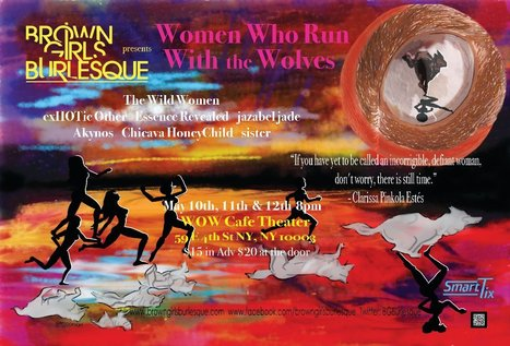"""Brown Girls Burlesque are paying homage to the 20th anniversary of """"Women Who Run With the Wolves 