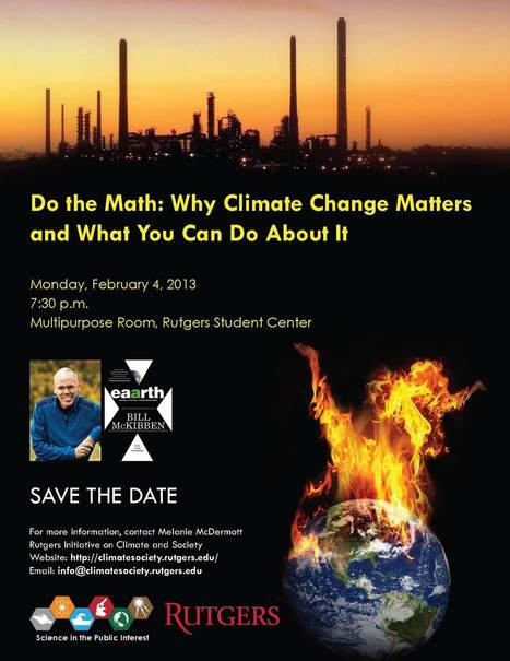 - Bill McKibben: Do the Math - Why Climate Change Matters and What You Can Do About It | Global Water Resources | Scoop.it