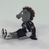 Minor league goalie fined for slew-footing mascot | Slam! sports blog | Mascots in the news | Scoop.it