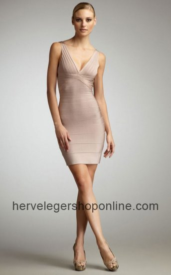 Nude Herve Leger Seri Woodgrain V Neck Bandage Dresses Sale [HLD002007] - $160.00 : Herve Leger Bandage Dress | Cheap BCBG Dresses Wholesale | prom dress | Scoop.it