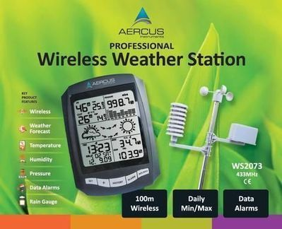 Aercus Instruments WS2073 Wireless Weather Station | A Home Weather Station Will Simplify Your Life | Scoop.it