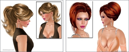 Free Hairstyles 49 | Second LIfe Good Stuff | Scoop.it