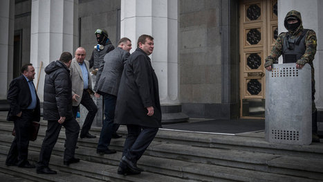 With President's Departure, Ukraine Looks Toward a Murky Future | Current Events | Scoop.it