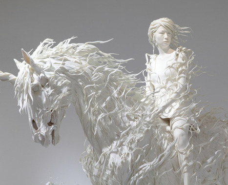 ART >>> Sculptures par Motohiko Odani | Journal du Design | Love love love | Scoop.it