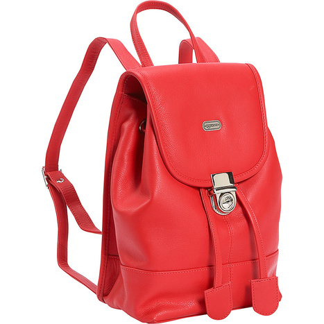 Leatherbay Leather Mini Backpack Purse - Crimson Red | Purses and Handbags | Scoop.it