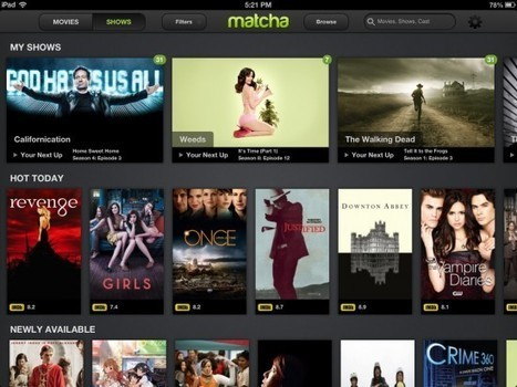 Apple rachète Matcha.tv : un pas de plus vers une Apple TV ? | La TV connectée | Scoop.it