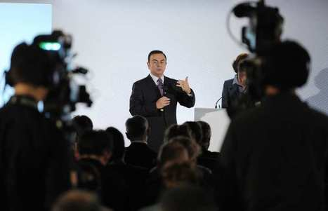 Carlos Ghosn a touché 7,2 millions d'euros comme PDG de Nissan en 2013 | Politique salariale et motivation | Scoop.it