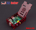 Raspberry Pi B Case Enclosure New Gloss Transparent Red Acrylic Computer Box $10.99   Raspberry Pi   Scoop.it