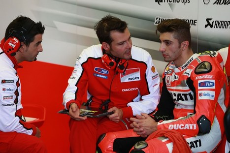 Andrea Iannone never looked to quit Ducati   MCN   Ductalk Ducati News   Scoop.it
