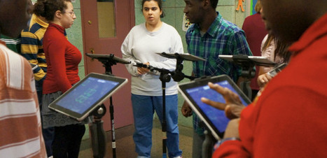 How iPads, Bob Marley's 'One Love' Help These Autistic High Schoolers Make Sweet Music | iPads, MakerEd and More  in Education | Scoop.it