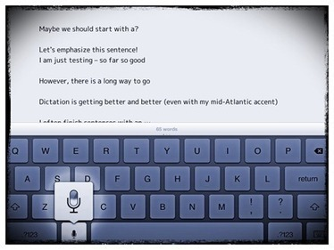 iPad Voice Dictation: Commands List & Tips | iPad Insight | Into the Driver's Seat | Scoop.it