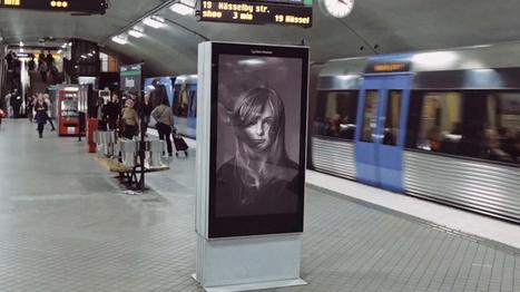 La lutte contre le cancer détourne le panneau d'affichage qui réagit au métro | ALAN 9 Communication | Scoop.it