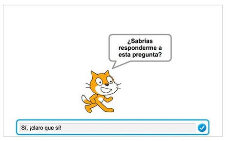 El proyecto Scratch de los Viernes (IV): crea juegos de preguntas y respuestas | Teknologia DBH eta Batxillergoan | Scoop.it