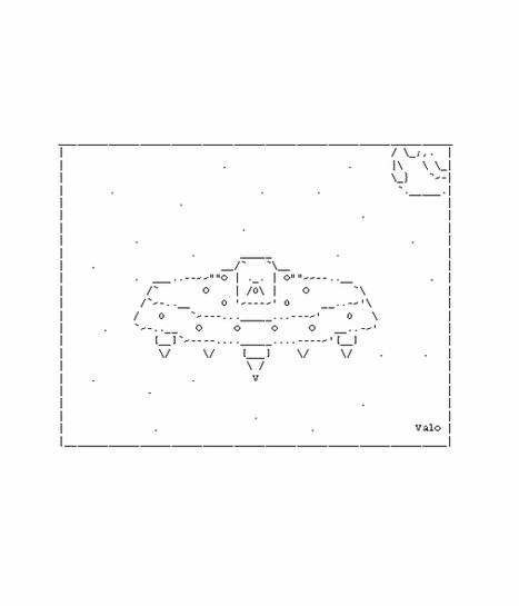 Space Aliens | ASCII Art | Scoop.it