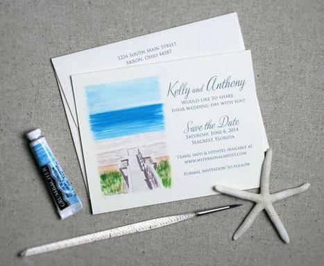 Thiệp cưới mang phong cách biển cả | Vì sao nên sử dụng dịch vụ cho thuê máy photocopy | Scoop.it