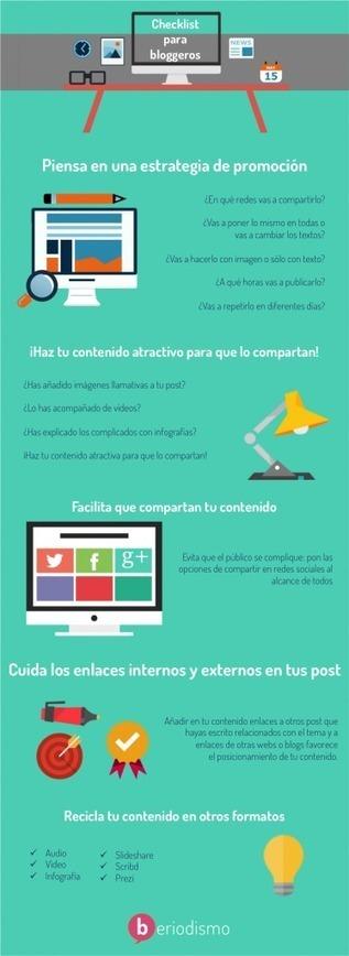 Checklist antes de publicar un post | beriodismo: el blog de @beagonpoz | redes sociales | Scoop.it