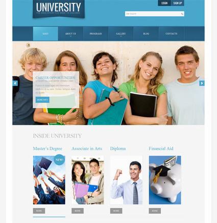 25 Best Education Joomla Template | Smashmagz | Smashmagz | Scoop.it