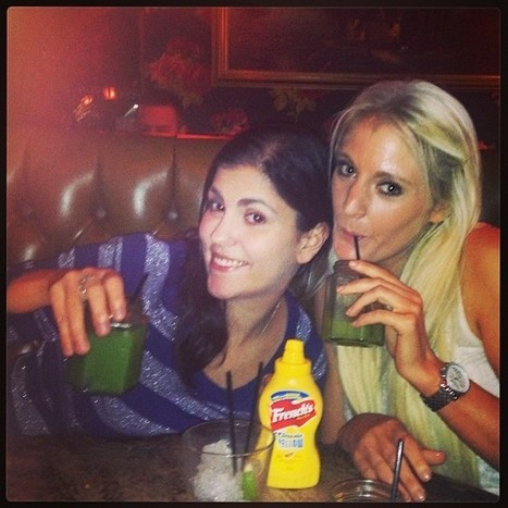 #me and #my #nikki #besties #friends #friendship #cocktails #gabis #birthday #dinner and #drinks #grandunion #paddington #blonde #brunette #love #family #mylife #myworld #igers #instabest | Grand Union | Scoop.it